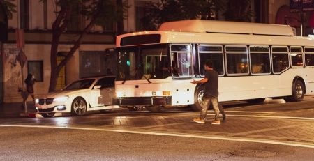 Portland, OR – One Injured in Pedestrian Crash on SW 3rd Ave near Pine St